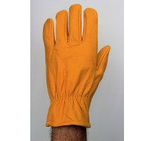 Gants cuir marron clair (orange)